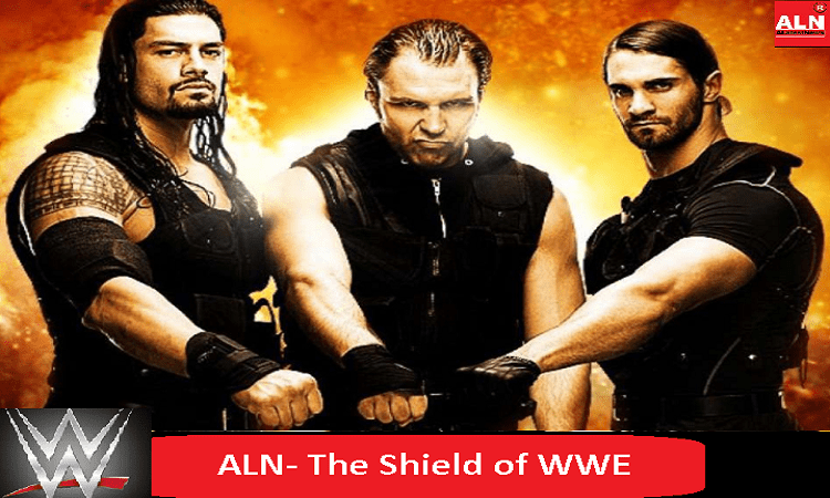 The Shield Group Roman Reigns, Dean Ambrose and Seth Rawlins
