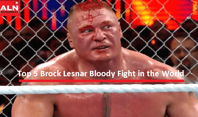 Brock Lesnar Bloody Fight in the World